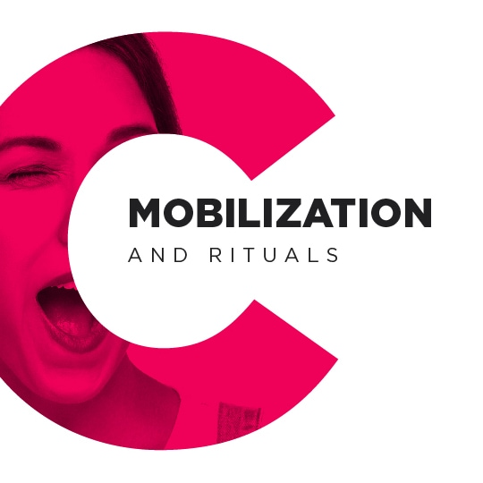 Mmobilization and rituals